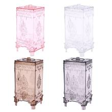 1PC European Cosmetic Organizer Makeup Case Drawer Storage Box Brush Pen Jewelry Holder Gifts Home Decor Bathroom Storage Box(China)