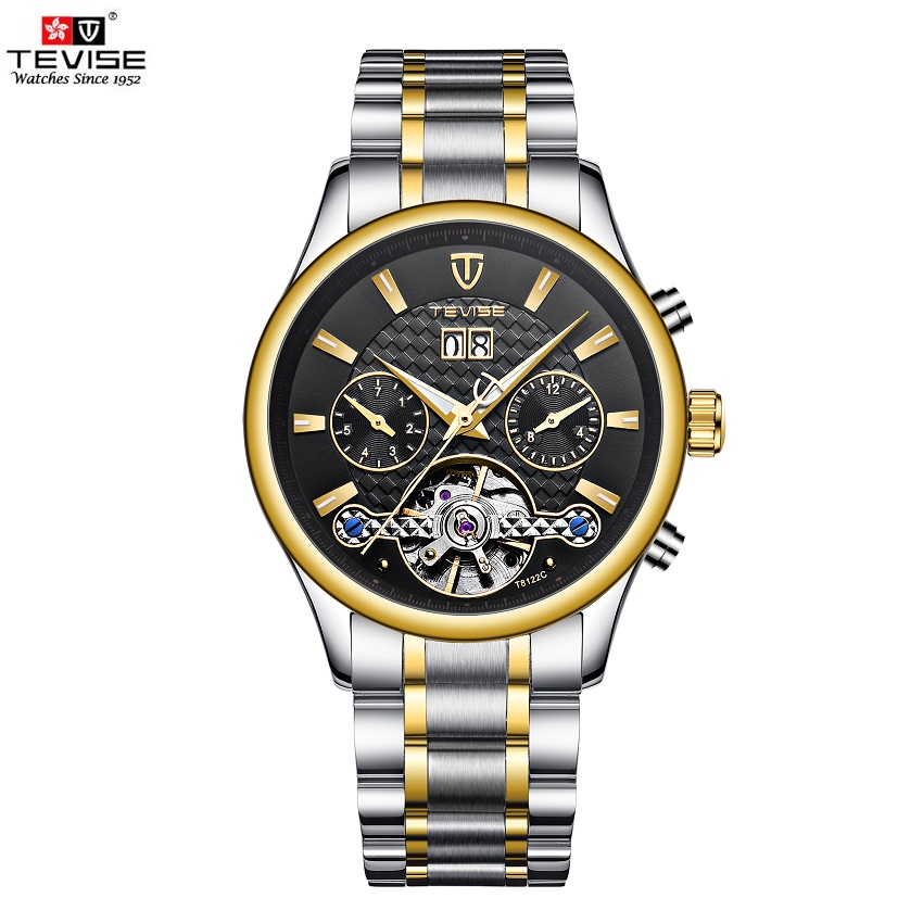 TEVISE Watch Men Date Calendar Luminous Mechanical Watches Luxury Automatic Mens Watches Waterproof Wristwatches Male ClockTEVISE Watch Men Date Calendar Luminous Mechanical Watches Luxury Automatic Mens Watches Waterproof Wristwatches Male Clock