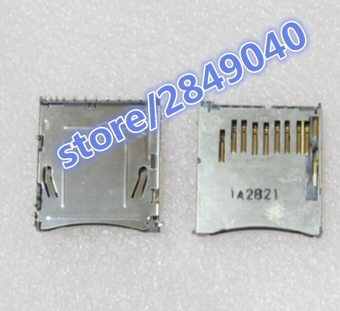 SD Memory Card Slot Holder For Nikon D90 D3100 D5000 D5100 D7000 SLR Digital Camera Repair Part