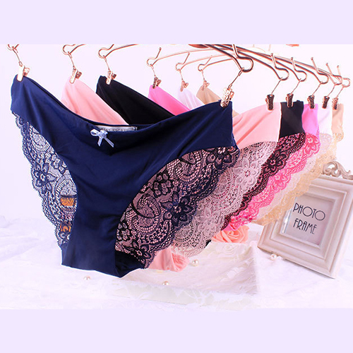 86116db607ae Ladies Underwear Woman Panties Fancy Lace Calcinha Renda Sexy Panties For Women  Traceless Crotch Of Cotton Briefs 1596