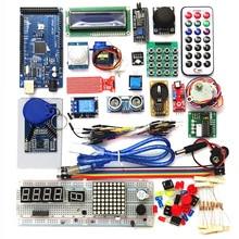 2560 r3 スターターキットモーターサーボrfid超音波測距リレー液晶arduinoのための