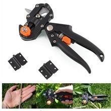 hot deal buy garden tools grafting pruner cutting tool + 2 blade gardenning tool tree multifunction vaccine scissor plant shears bulk price