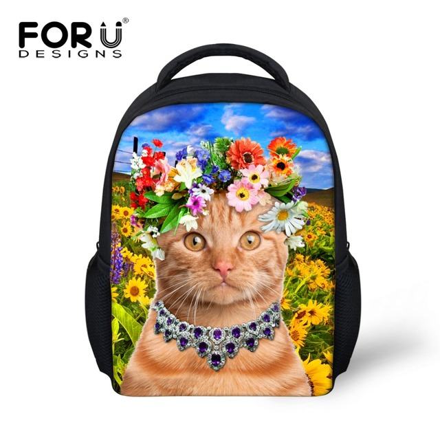 FORUDESIGNS маленький рюкзак школьный детский, милый рюкзак для девочек,рюкзаки школы, сумка рюкзак ранец школьные, 12 дюймовый печатать рюкзаки школьные,2016 школьные ранцы детские рюкзаки школьный для девочки