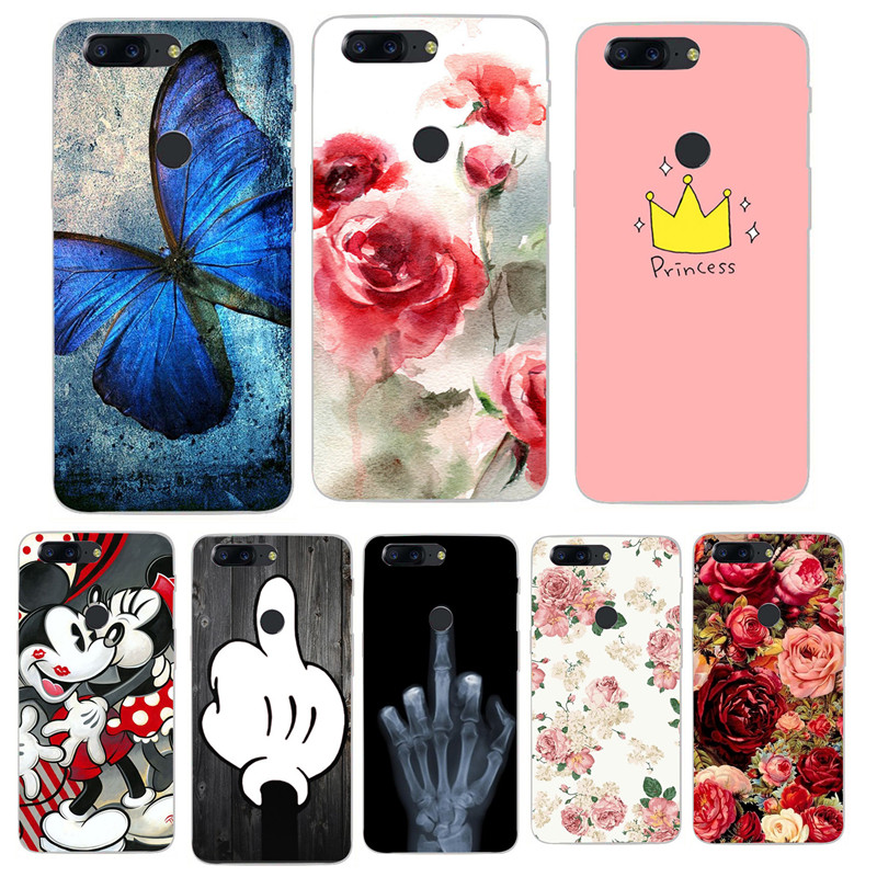Oneplus 6 Case Oneplus 6 Case 6.28 TPU Cartoon Painting Case Oneplus 6 One Plus 6 Oneplus 5 5T Silicone Back Cover Phone Case