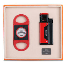 Jifeng набор зажигалок для сигар портативный Ветрозащитный Зажигалка