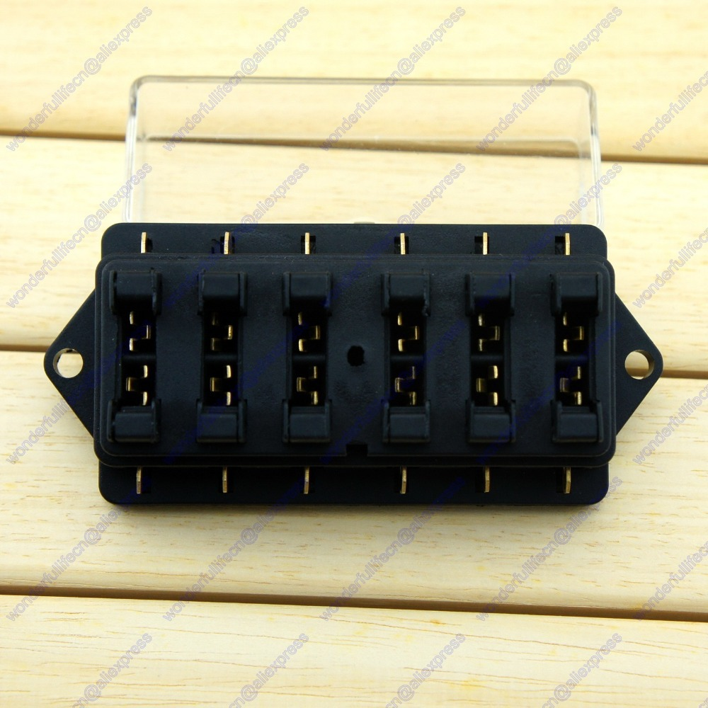 6 Way Standard Blade Fuse Box Holder Car Truck RV Camper Van Boat Marine  12V 24V Free Shipping-in Fuses from Automobiles & Motorcycles on  Aliexpress.com ...