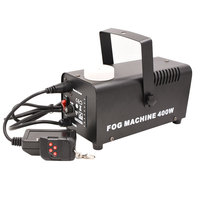 Mini Smoke Fog Machine for Wedding Party Music Center Stage Equipment with Wireless Remote Control 400 Watts