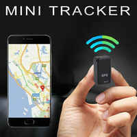Magnetic GF07 GSM Mini SPY GPS Tracker Real Time Tracking Locator-Device Mini GPS Real Time Car Locator TrackerTracking Device