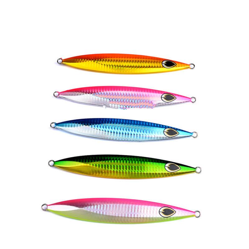 5pcs/set Metal Jigs Butterfly Knife Jigs Bait Lures Slow Pitch Lures 150g/15.5cm 200g/17cm Snapper Jiggings Crankbait Swimbait
