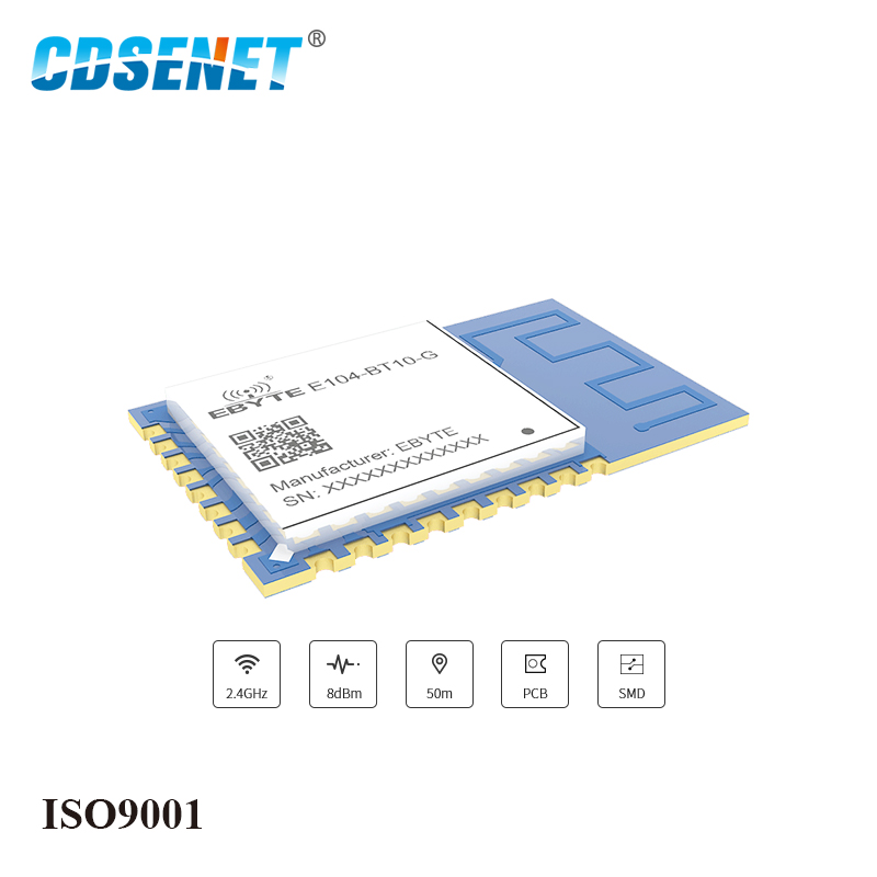 Image 2 - E104 BT10 G 2.4GHz TLSR8269 Bluetooth Transceiver UART Module SMD GFSK SigMesh Gateway For Mesh Network-in Fixed Wireless Terminals from Cellphones & Telecommunications