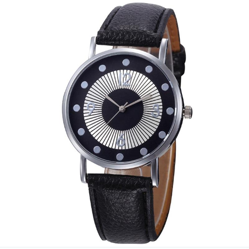 2018 Fashion quartz Analog wrist watch Leather Band Ladies Casual bracelet watch relogio feminino montre femme stylish bracelet band women s quartz analog wrist watch coffee golden 1 x 377