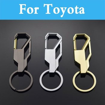 car styling Automotive Parts Key Rings Model Alloy Key Chain For Toyota Avensis Aygo Belta Blade Brevis Caldina Cami Camry image