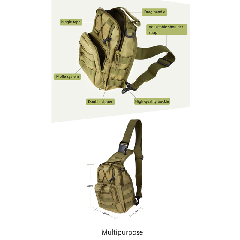 Outdoor Shoulder Military Backpack Climbing Bags Camping Travel Hiking Trekking Bag Cycle Bag 9 Colors20