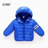 Ultra Light Girls Boys Kids Down Jacket White Duck Down Coat Winter Warm 4 12T Kid