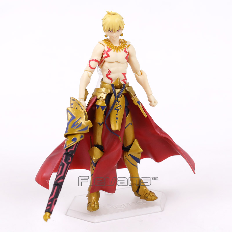 Anime Fate/stay night Fate Grand Order Archer Gilgamesh Figma 300 PVC Action Figure Collection Model Kids Toys Doll 15cm