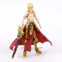 Anime fate/stay night fate grand order archer gilgamesh figma 300 pvc figura de ação coleção modelo crianças brinquedos boneca 15cm