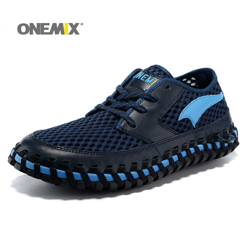 ONEMIX Professional Men Running Shoes Summer Arch Sneakers wading shoes Breathable Sport Shoe Outdoor Walking Sneaker For Women blevolo high capacity men wallets male long purses zipper leather money clips business clutch bags coin pocket wallet for men