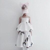 2019 Caroline Bosmans girls dresses princess kids dresses for girls toddler dress unicorn party ins