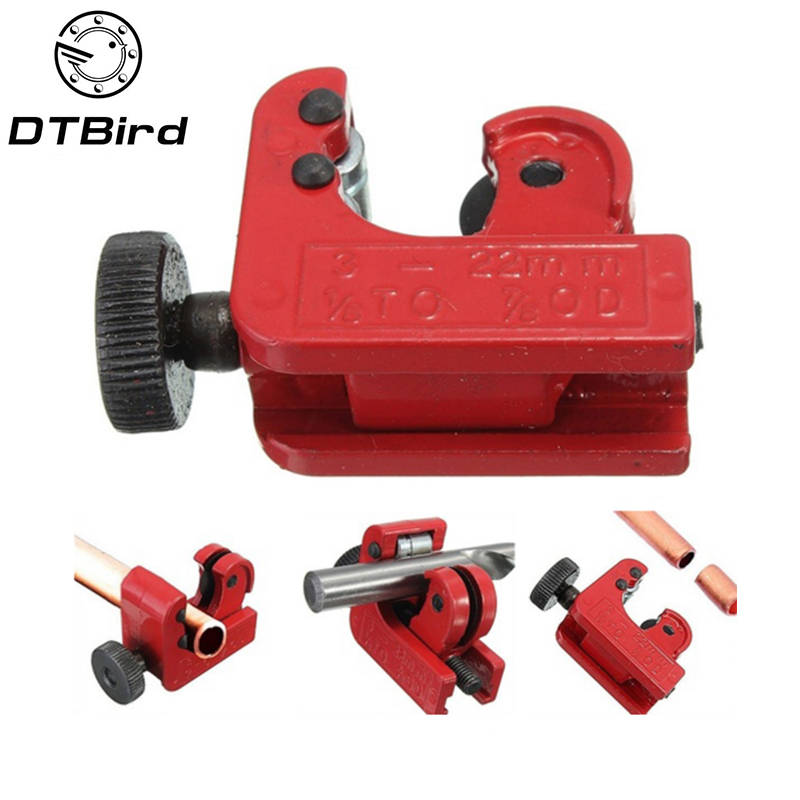 Red 3mm-28mm Tube Pipe Cutters Heavy Cut Copper Brass Aluminium Plastic PipesBB$