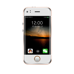 Super Mini Android Smart Phone SOYES 6S MTK Dual Core 1GB+8GB 2.0MP Dual SIM High Definition Screen 6S 7S I7 I7S Mobile Phone X