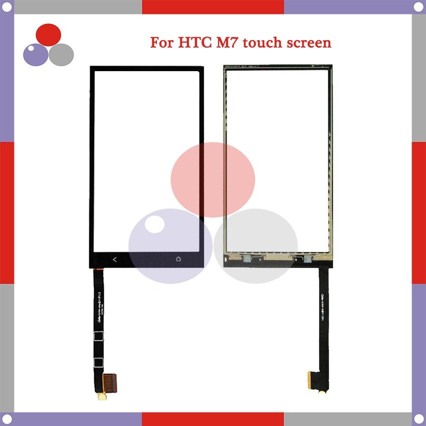 De haute Qualité Pour HTC Un M7 Écran Tactile Panneau Capteur Digitizer Extra Lentille En Verre