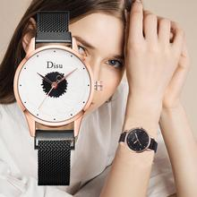 Top Brand Women Dress Watches Fashion Flower Dial Watch Luxury Rose Gold Ladies Crystal Quartz Magnetic Wristwatch reloj mujer women watch top brand luxury rose gold simple ladies fashion wristwatches dress watches women quartz watch reloj mujer dropship