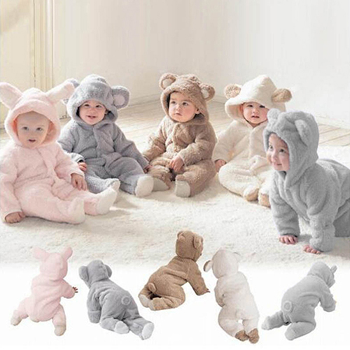 Newborn Baby Infant Boy Girl Fashion Romper Hooded Jumpsuit Bodysuit Outfits Clothes 2017 new adorable summer games infant newborn baby boy girl romper jumpsuit outfits clothes clothing