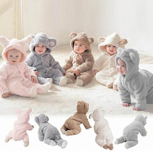 Newborn Baby Infant Boy Girl Fashion Romper Hooded Jumpsuit Bodysuit Outfits Clothes