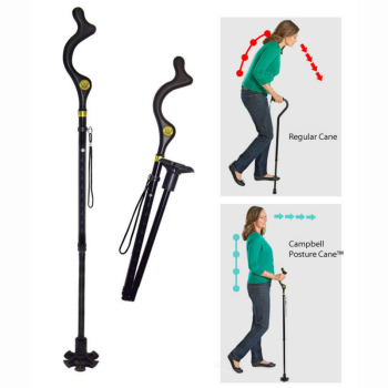 Adjustable pole foldable safety wa