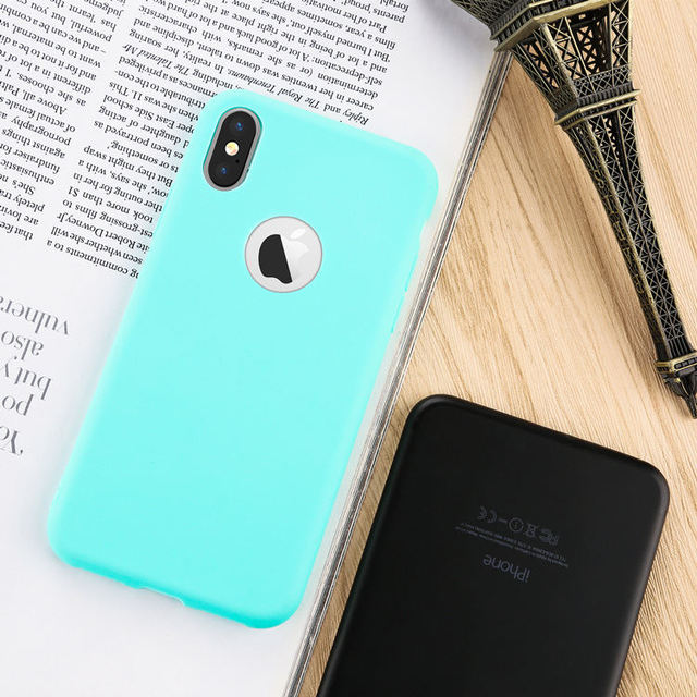 Soft Phone Cases for iPhone X 5 5S SE 6 6S 7 8 Plus
