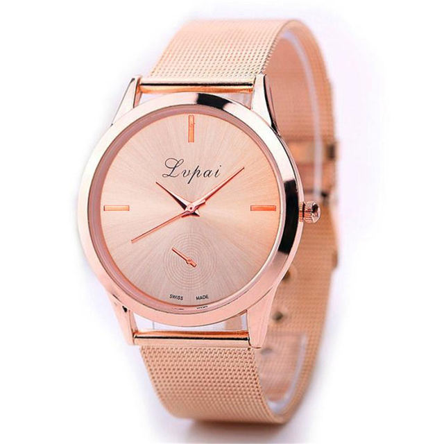 Fashion Women Watches Sport Bracelet Watch Casual Leather Band Analog Alloy Quartz Relojes de mujer
