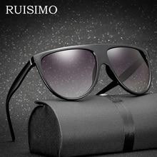 Luxury brand Sunglasses Ladies Women Flat Top