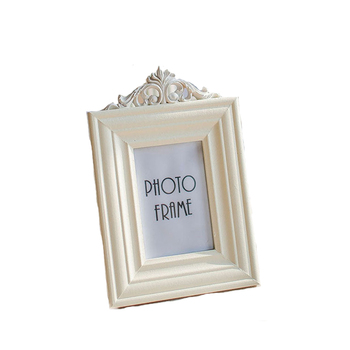 Styl europejski Retro drewniana ramka na zdjęcia 3 Cal 5 Cal 6 Cal 7 Cal wysokiej jakości biały obraz w ramie ramki A $ tanie i dobre opinie Drewna Europa R17030605 Rectangle 3 inch 5 inch 6 inch 7 inch wood photo frame square white