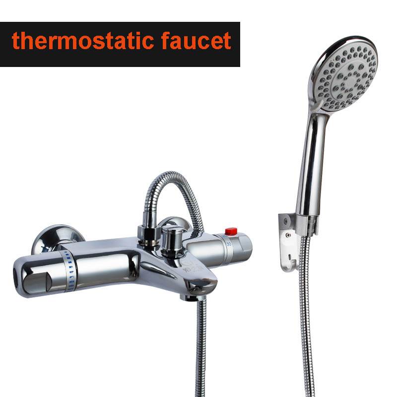 High Quality Professional Design Thermostatic Mixer Valve: Quality Bathtub Thermostatic Faucet Bath And Shower Mixer