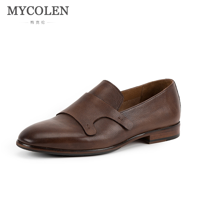 MYCOLEN Men Casual Shoes Men Leather Luxury Product Loafers Moccasins Slip On Shoes Men'S Flats Loafers Male Shoe Luxury Brand mycolen new fashion genuine leather men loafers slip on casual shoes man luxury brand driving shoe male flats footwear black