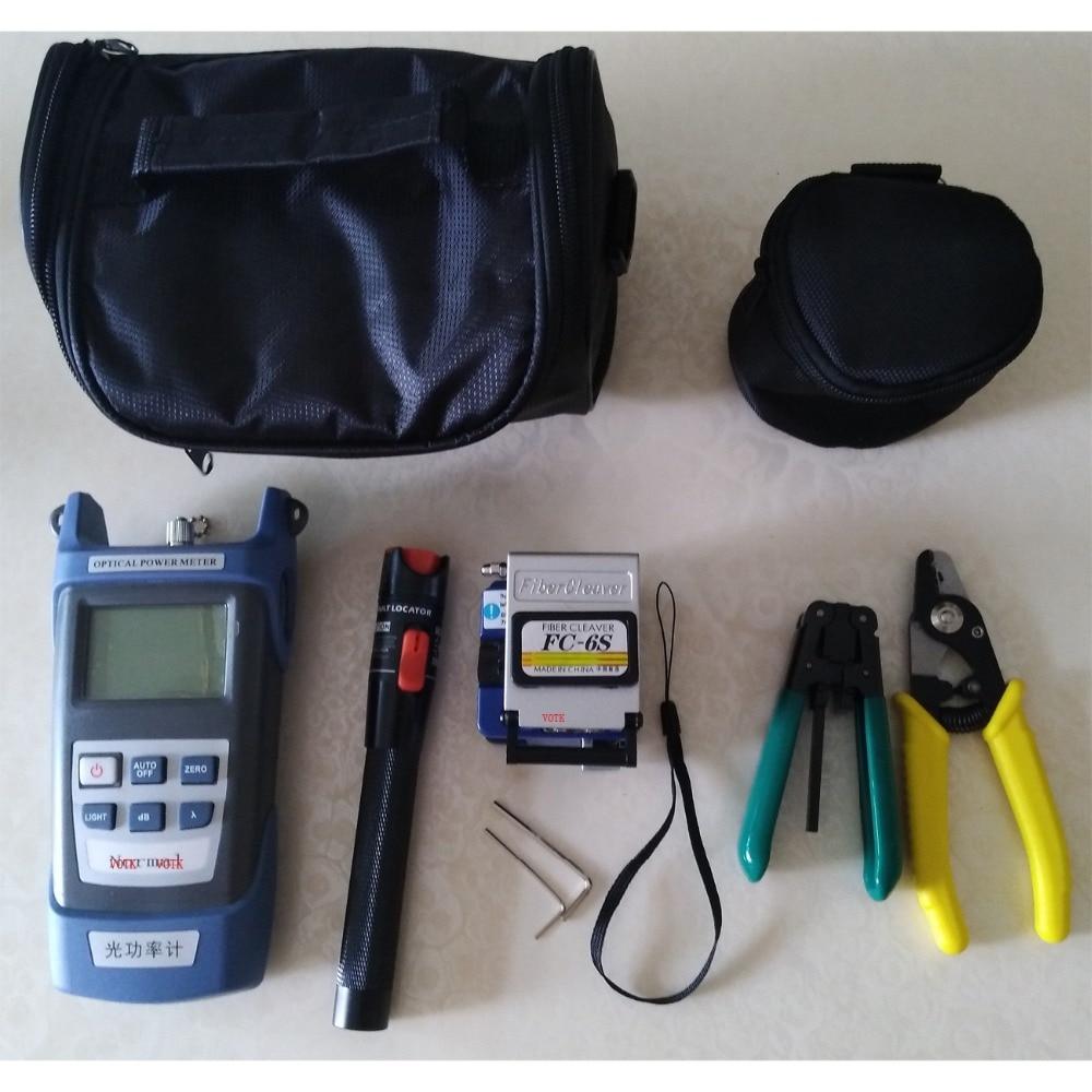 Trousse à outils FTTH à Fiber optique compteur de puissance optique 10Mw détecteur de défaut visuel CFS-3 coupe-Fiber