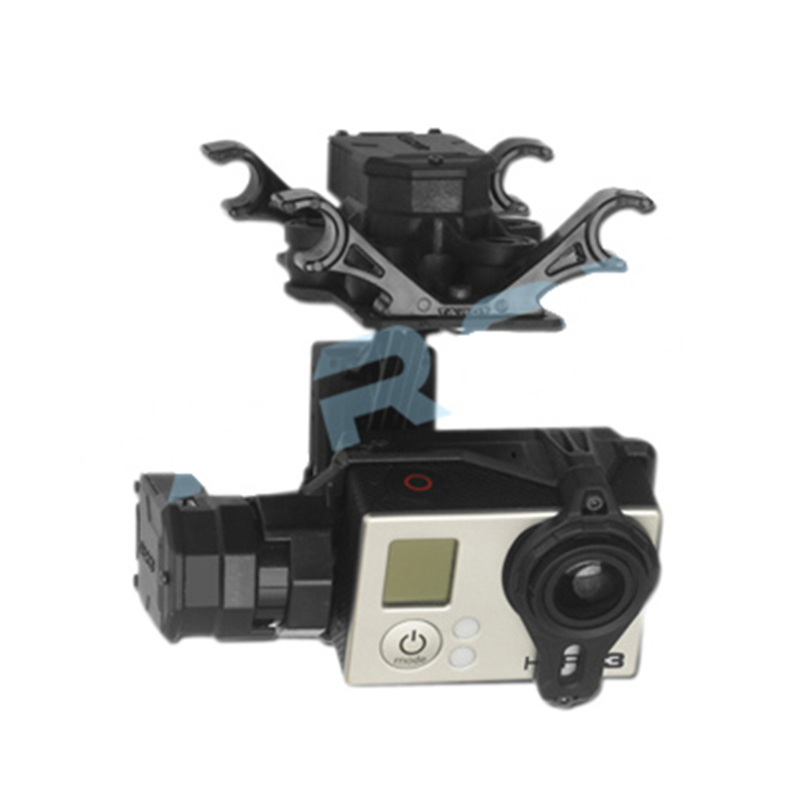 Tarot TL3D01 T4-3D 3-axis Brushless Gimbal for GOPRO GOPRO4/GOpro3+/Gopro3  FPV Photography SYZ rtf ready to fly 3 axis gopro brushless gimbal fpv stablizer alexmos v2 4 fully assembled for gopro3 hero 3 big board