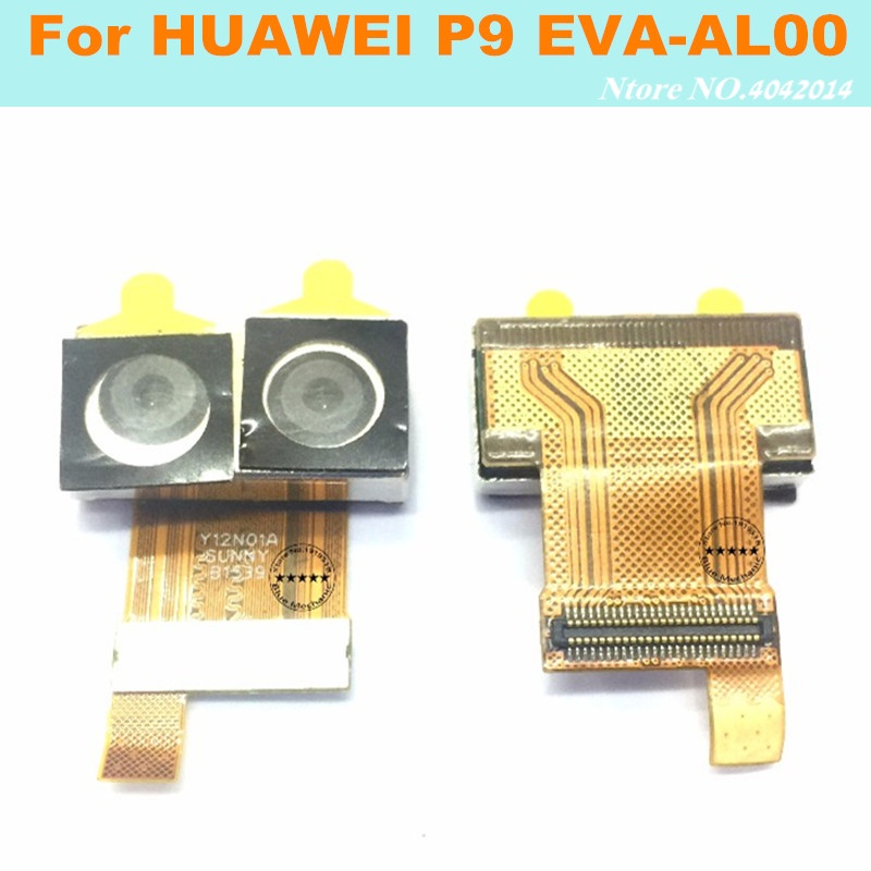 Original Dual Back Camera Flex Cable For HUAWEI P9 Rear Camera Module Replacement parts SUMMARIT H 1:2.2/27 ASPH 12MP