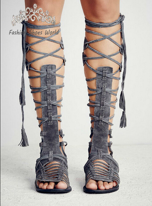 Online Get Cheap Knee High Fringed Boots -Aliexpress.com | Alibaba ...