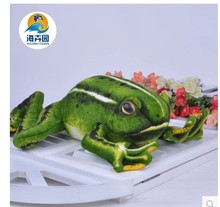 2016 new arrival large 50cm toy simulation frog plush toy soft pillow,birthday gift