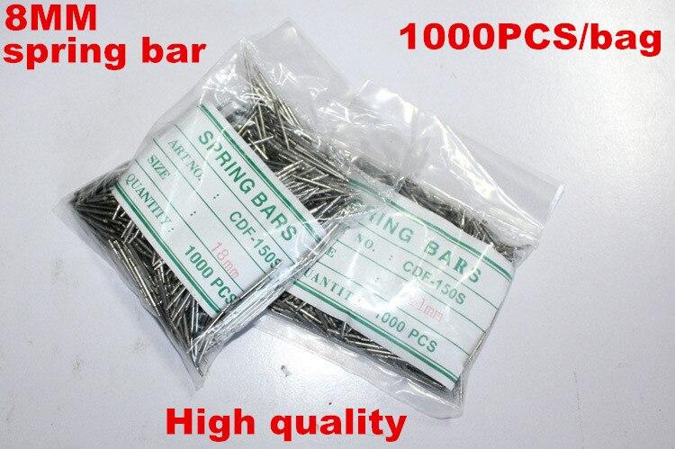 Wholesale 1000PCS bag High quality watch repair tools kits 8MM spring bar watch repair parts 041291