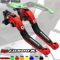 For Honda CBR500R CB500F CB500X CB 500X 500F CBR 500R 2013 2015 CNC Motorcycle Folding Extendable/ 170mm Clutch Brake Levers