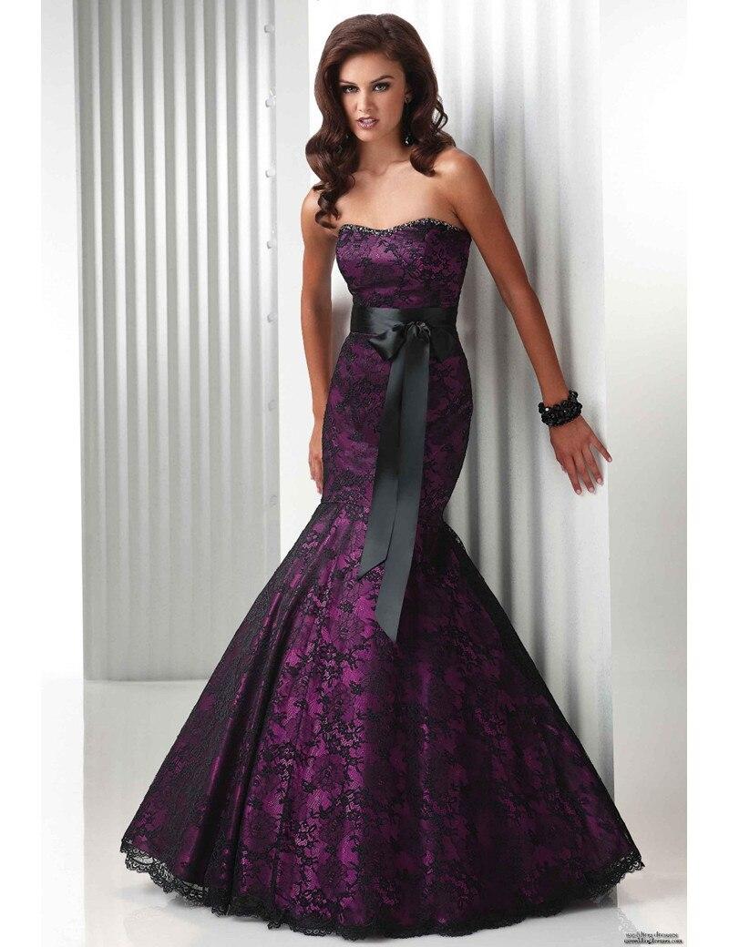Online Buy Wholesale elegant purple dresses from China elegant ...