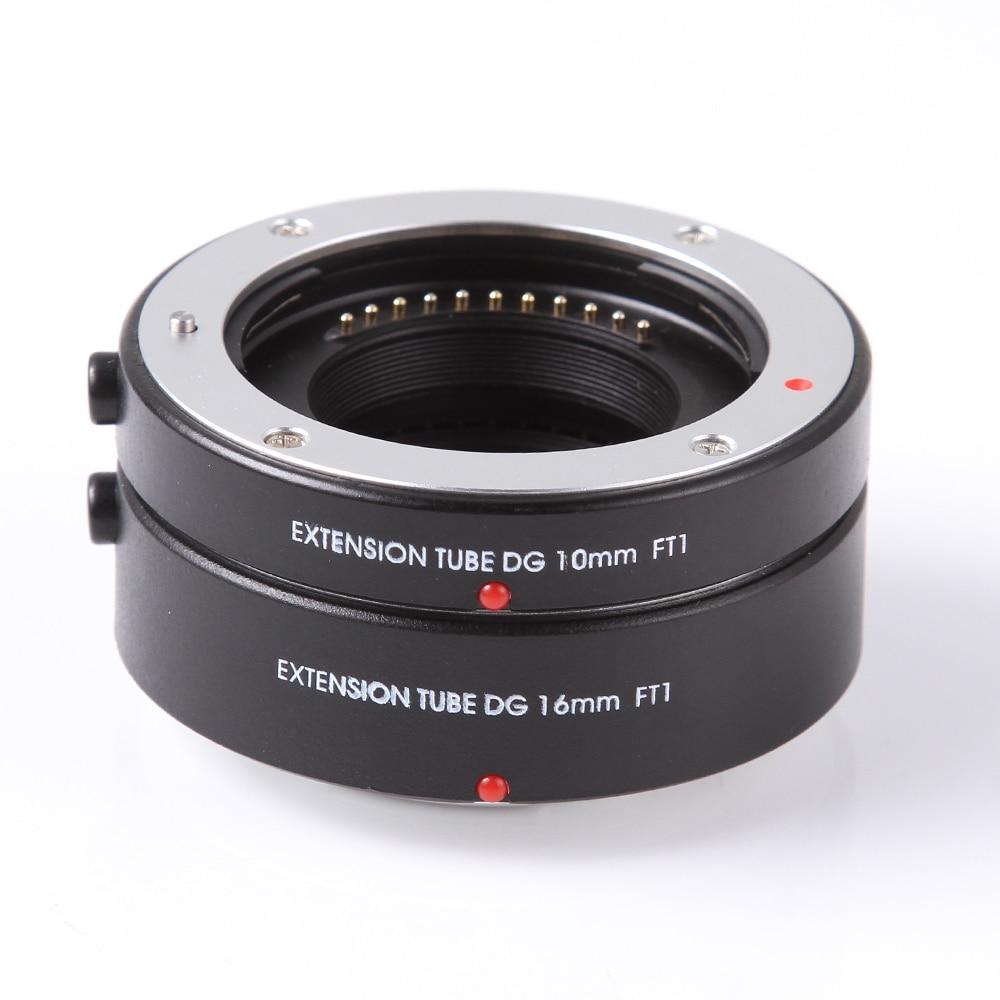 FOTGA Macro AF Auto Focus Tube Extension Lentille Anneau Adaptateur DG 10mm + 16mm pour Four Thirds M43 Micro 4/3 Caméra