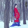 Ta Xue You Yuan Ethnic Fashion Pure Embroidery Educated Lass Costume Hanfu for Women Mori Girl Style Costume