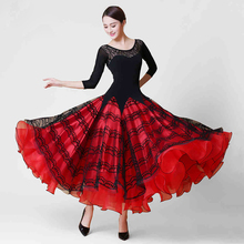 Ballroom Competition Dance Dresses 2017 New Design Lady's High Quality Standard Tango Waltz Ballroom Dancing Costume