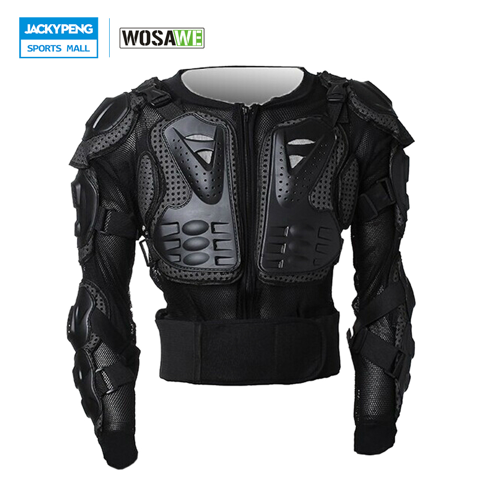 WOSAWE Professional Motorcycle Body Protection Jacket Guards Motocross Off-Road Armor Spine Chest Protector Gear Back Support brand new motorcycle armor protector motocross off road chest body armour protection jacket vest clothing protective gear p14