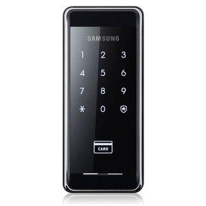 Image 5 - SAMSUNG Ezon SHS 2920 serrure de porte numérique sans clé, avec 4 cartes RFID, nouveau système de sécurité électronique, empreinte digitale