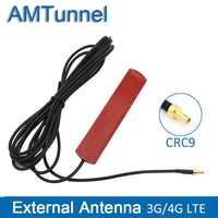 3G 4G антенна 4G LTE патч антенна 4G маршрутизатор Антенна С CRC9 коннектором с 3 м кабелем для Huawei роутер USB модем