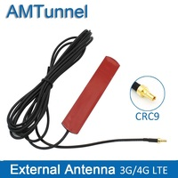 3G 4G antenne 4G LTE patch antenne 4G router antenne met CRC9 connector met 3 m kabel voor Huawei router USB modem